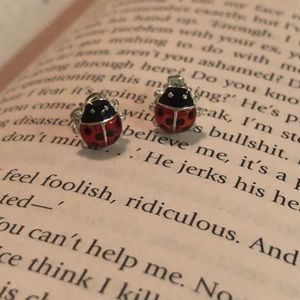 BOGO Ladybug earrings
